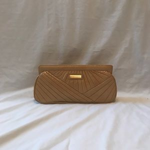 Isabella Fiore  Honey Mustard clutch